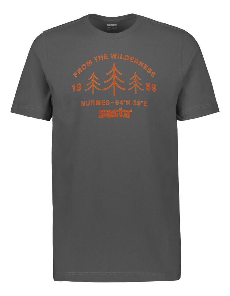 Wilderness t-paita SASTA Dark Grey